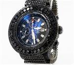 Breitling Super Avenger Black Diamonds 55MM A13370